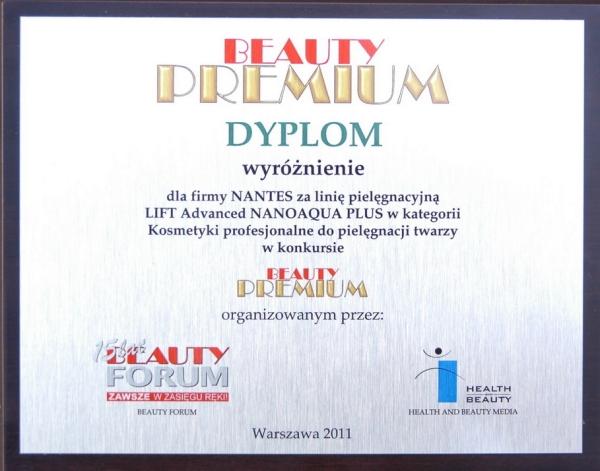 Nantes wyróżniony na targach Beauty Forum