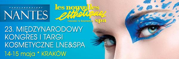 NANTES na 23. Międzynarodowym Kongresie Kosmetycznym LNE & spa 14-15 maja 2011 r.
