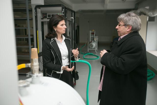 Podsekretarz Stanu w Ministerstwie Gospodarki, Ilona Antoniszyn-Klik, odwiedziła Nantes i Stomadent